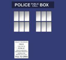 Police Box New Blue by simonbreeze