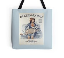 Be Kind To Animals (1934) Tote Bag