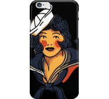 Pin up marine  iPhone Case/Skin