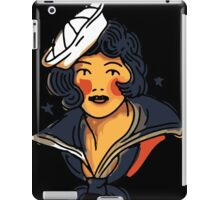 Pin up marine  iPad Case/Skin