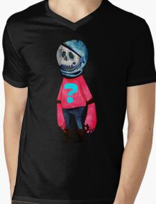 Space Kid Mens V-Neck T-Shirt