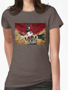 Mad Riddle Womens Fitted T-Shirt