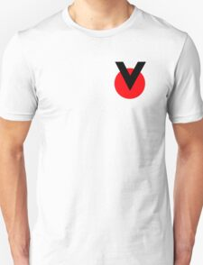 Space Pilot Helmet Victory Logo Red Unisex T-Shirt