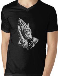 TRAP GOD 2 Mens V-Neck T-Shirt