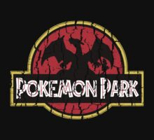 Pokemon Park (Distressed Effect) Kids Clothes