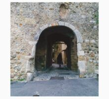 France. Town Alleyways 2. Cagnes Sur Mer One Piece - Long Sleeve