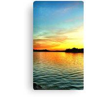 Beauty of a Southside Sunset Canvas Print