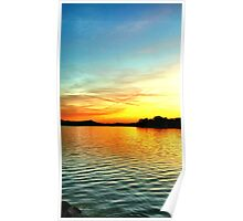 Beauty of a Southside Sunset Poster