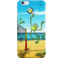 Olympic Volleyball Frog iPhone Case/Skin