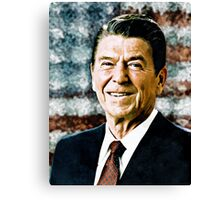The Great President Ronald Reagan Canvas Print
