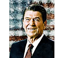 The Great President Ronald Reagan Photographic Print