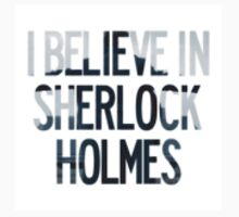 I Believe In Sherlock Holmes sticker by johnsmoustache