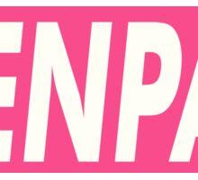 SENPAI Pink EDR 817  Sticker