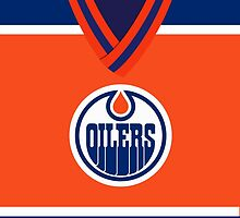Oilers Orange Jersey by jdsmdlo