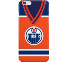 Oilers Orange Jersey iPhone Case/Skin