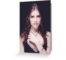 Anna Kendrick Cannes Greeting Card