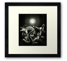 Luna Teaparty Framed Print