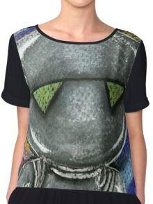 Marvin the Paranoid Android  Chiffon Top