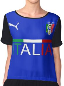 Euro 2016 Football Team Italy Chiffon Top