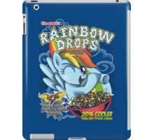 Rainbow Drops - Total Awesome! iPad Case/Skin
