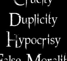 7 Deadly Sins  Sticker