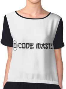 code master ninja programming Chiffon Top