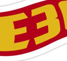 E30 hot wheels Sticker
