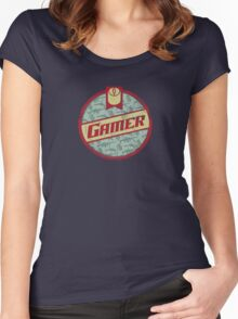 Gamer (vintage) Women's Fitted Scoop T-Shirt