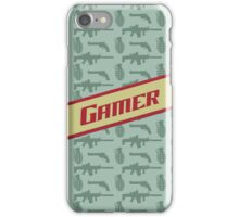 Gamer (vintage) iPhone Case/Skin