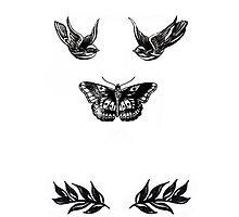 Harry tattoos by namelesstash