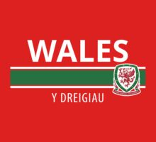 Wales National Football Team Kids Tee