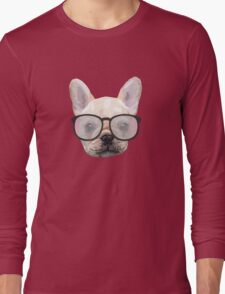 Dog with glasses Long Sleeve T-Shirt