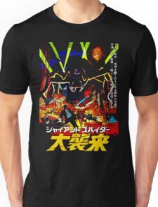 Creeping!...Crawling!...Crushing! Unisex T-Shirt