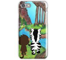 Trip through the jungle  iPhone Case/Skin