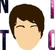 awshum nebula danisnotonfire tshirt ay Sticker