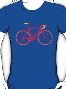 Bike Pop Art (Pink & Yellow) T-Shirt