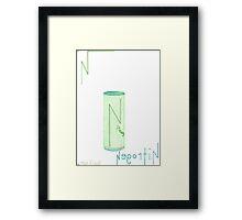 Nitrogen In A Can Framed Print