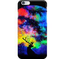 Space Night Deer iPhone Case/Skin