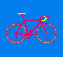 Bike Pop Art (Pink & Yellow) by sher00