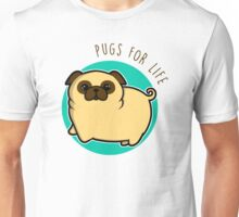 Pugs for life - fawn Unisex T-Shirt
