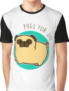 Pugs for life - fawn Graphic T-Shirt