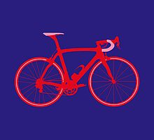 Bike Pop Art (Red & Pink) by sher00