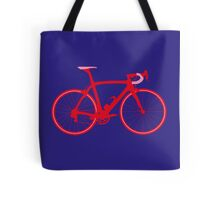 Bike Pop Art (Red & Pink) Tote Bag