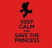 KEEP CALM AND SAVE THE PRINCESS Unisex T-Shirt