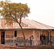 Saloon bar at Melelo, Kenya by indiafrank