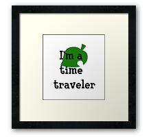 I'm a Time Traveler! Framed Print