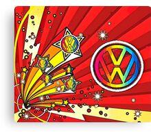 VW Fireworks Canvas Print
