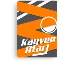 Kayvee Atari Poster Canvas Print