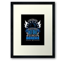 LEGENDARY GAMER (SONIC ORIGINAL COLORS) Framed Print