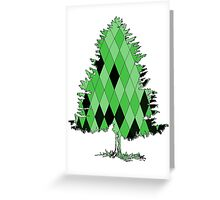 Fir Tree Greeting Card